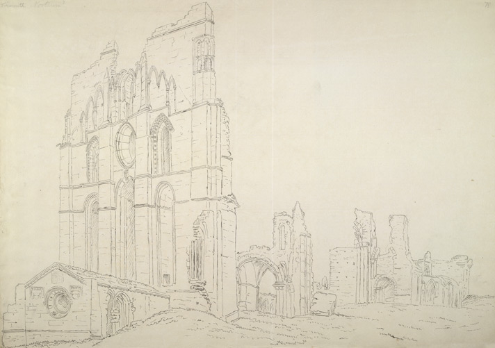 Tynemouth Priory f.78
